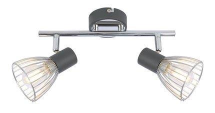 LAMPA ŚCIENNA  CANDELLUX MODO 92-61522 LISTWA  E14 CZARNY+CHROM