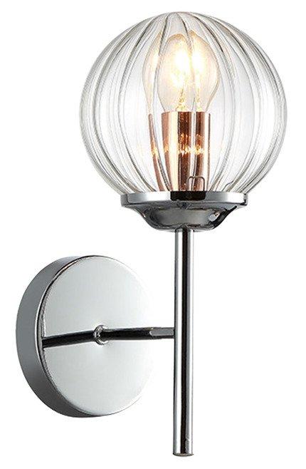 LAMPA ŚCIENNA KINKIET CANDELLUX BEST 21-67234  E14 CHROM+MIEDŹ