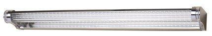 LAMPA ŚCIENNA KINKIET CANDELLUX MODERNO 20-40794  LED 58 CM STAL NIERDZEWNA POLEROWANA/AKRYL