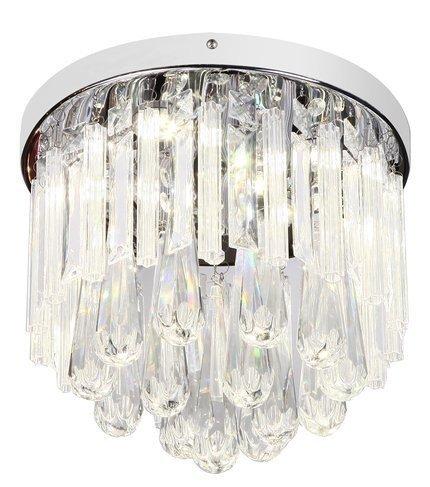 LAMPA SUFITOWA  CANDELLUX ATELLA 98-44778 PLAFON  LED CHROM