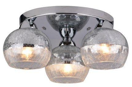 LAMPA SUFITOWA  CANDELLUX CROMINA 98-55637 PLAFON OKRĄGŁY  E27 CHROM