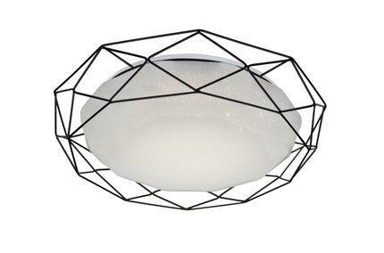 LAMPA SUFITOWA  CANDELLUX SVEN 98-66244 PLAFON  24W LED 3000K CZARNY