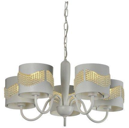 LAMPA SUFITOWA WISZĄCA CANDELLUX ANTONIO 35-23001  E27 BIAŁY