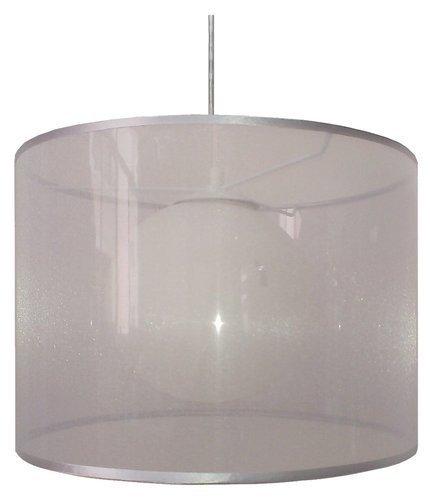 LAMPA SUFITOWA WISZĄCA CANDELLUX CHICAGO 31-24916   E27 SREBRNY