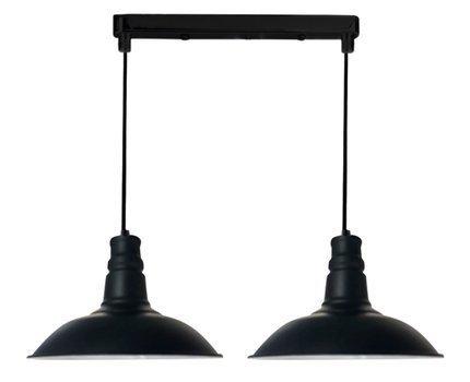 LAMPA SUFITOWA WISZĄCA CANDELLUX CONSUELA 32-57624  E27 CZARNY