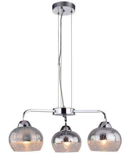 LAMPA SUFITOWA WISZĄCA CANDELLUX CROMINA 33-56368  E27 CHROM
