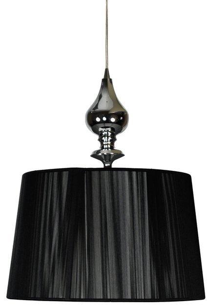 LAMPA SUFITOWA WISZĄCA CANDELLUX GILLENIA 31-21437  E27 CZARNY