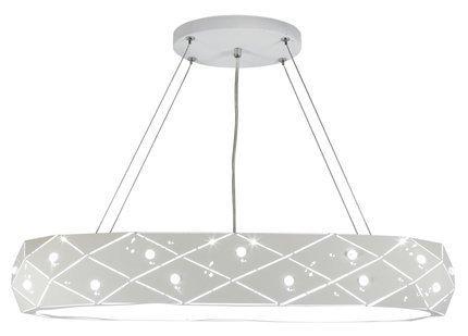 LAMPA SUFITOWA WISZĄCA CANDELLUX GLANCE 31-59178   G9   BIAŁY