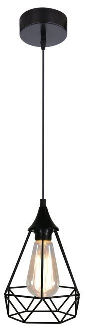 LAMPA SUFITOWA WISZĄCA CANDELLUX GRAF 31-62888  E27 CZARNY