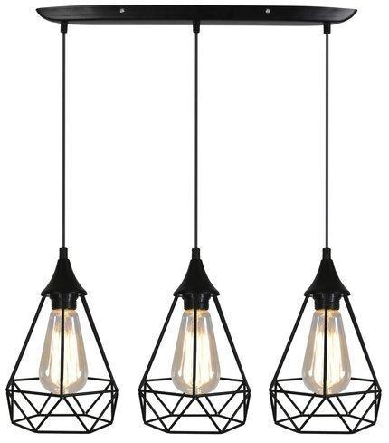 LAMPA SUFITOWA WISZĄCA CANDELLUX GRAF 33-62901  E27 CZARNY