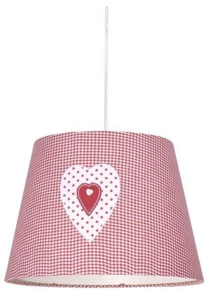LAMPA SUFITOWA WISZĄCA CANDELLUX SWEET 31-07179   E27 RÓŻOWY