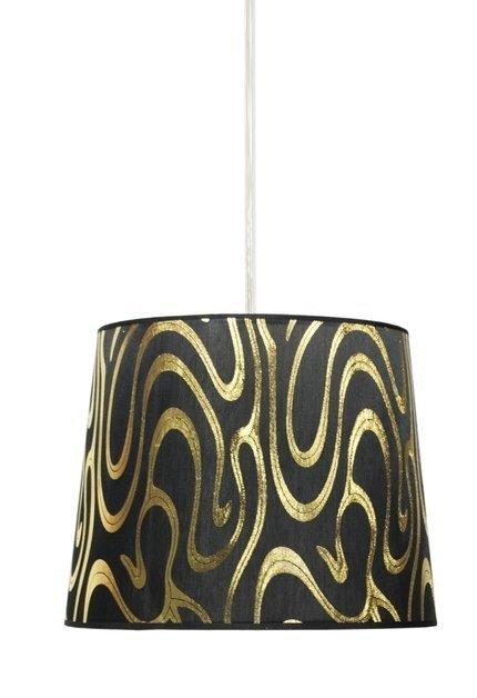 LAMPA SUFITOWA WISZĄCA CANDELLUX TIGER 31-94448   E27 CZARNO-ZŁOTY