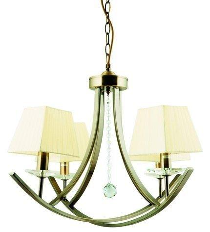 LAMPA SUFITOWA WISZĄCA CANDELLUX VALENCIA 34-84555  E14 PATYNA