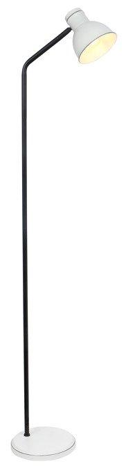 Lampa Podłogowa Candellux Zumba Sztyca Prosta 51-72092 Biały+Czarny