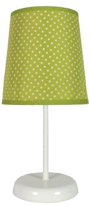 Lampa Stołowa Candellux Gala 41-98262 E14 Zielona W Kropki