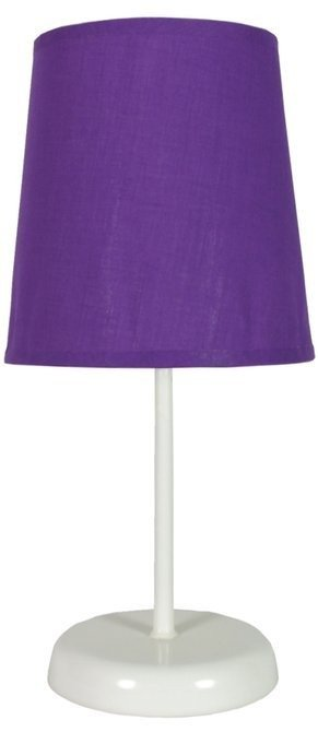Lampa Stołowa Candellux Gala 41-98392 E14 Fioletowa