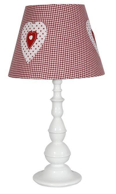 Lampa Stołowa Gabinetowa Candellux Sweet 41-64189 E27 Różowa