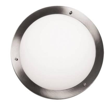 Lampa Sufitowa Candellux Aquila 14-84203 Plafon E27 Satyna Nikiel Ip44