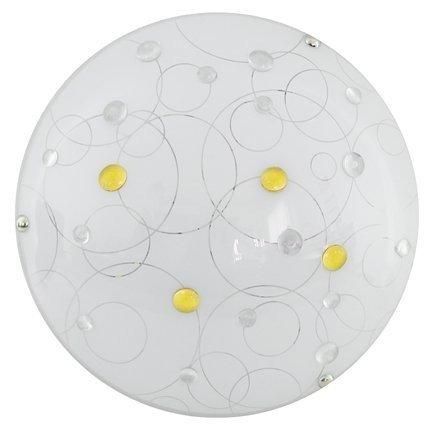 Lampa Sufitowa Candellux Astro 13-39606 Plafon Led 6500K Amber