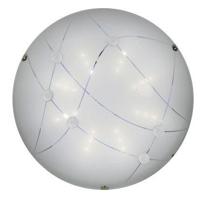 Lampa Sufitowa Candellux Duca 13-54180 Plafon Led 6500K Bezbarwny