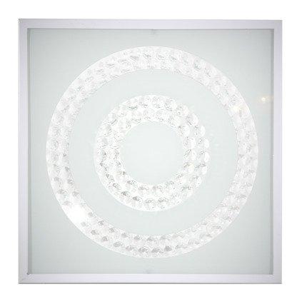 Lampa Sufitowa Candellux Lux 10-64493 Plafon 16W Led 4000K Biały Podwójny Ring