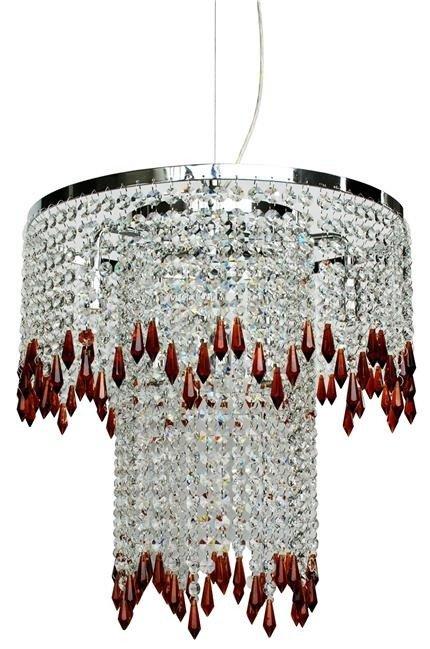 Lampa Wisząca Candellux Vienna 6X40W G9 Kryształ