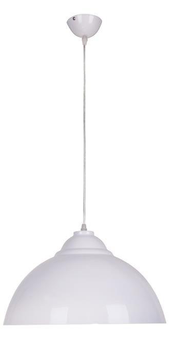 Lampa Wisząca Zwis Candellux Uni 1X60W E27 Biały