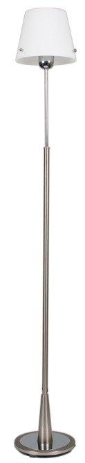Lampa podłogowa biały abażur 60W E27 Tango Candellux 51-57252