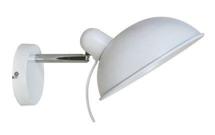 Lampa ścienna kinkiet 1X40W E14 biały DURIO 21-51448