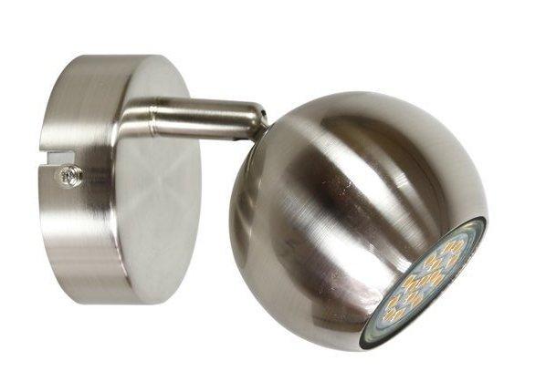 Lampa ścienna kinkiet 1X50W GU10 satyna BALT 91-60594