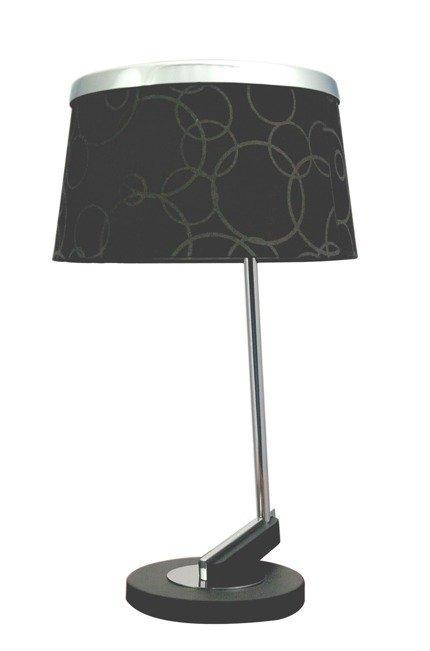 Lampa stołowa 1X60W E27 czarny chrom IMPRESJA 41-45310