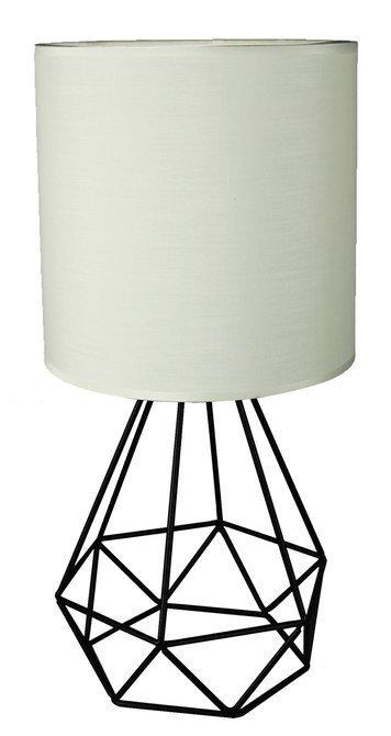 Lampa stołowa gabinetowa 1X60W E27 kremowy GRAF 41-62925