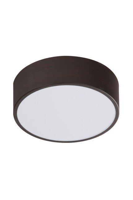 Lampa sufitowa LED zimny 10W 6500K plafon wenge Zigo Candellux 10-39545