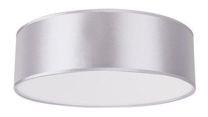 Lampa sufitowa okrągła jasno szara 3x40W E27 40cm Kioto Candellux 31-64684