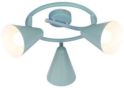 Lampa sufitowa spirala 3X40W E14 szary mat AMOR 98-63359