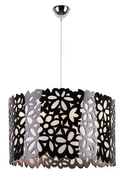 Lampa sufitowa wisząca 3X40W E14 czarny SIMONA 33-87174