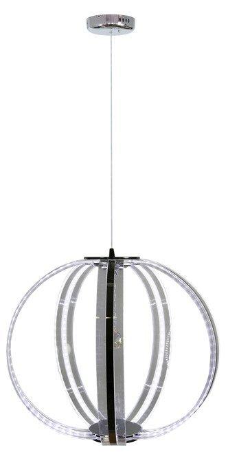 Lampa wisząca kula z pasków LED biały zimny 35W Cansas Candellux 31-43955