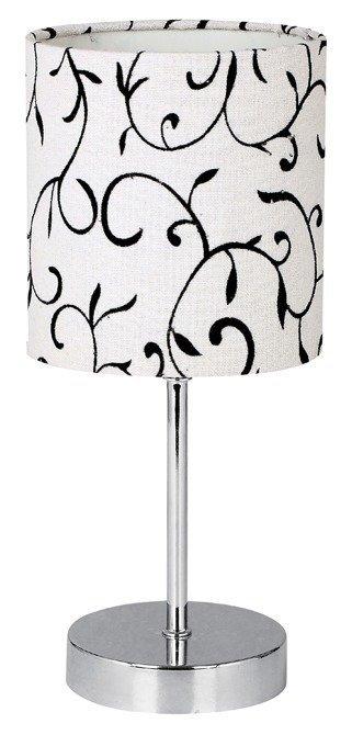 Lampka stołowa gabinetowa biała Emily 41-26750