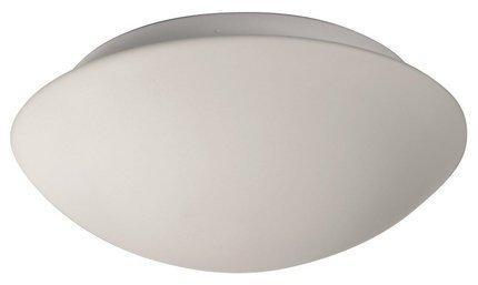 Plafon biały szklany do łazienki E27 60W 17,5cm Nina Candellux 12-74150