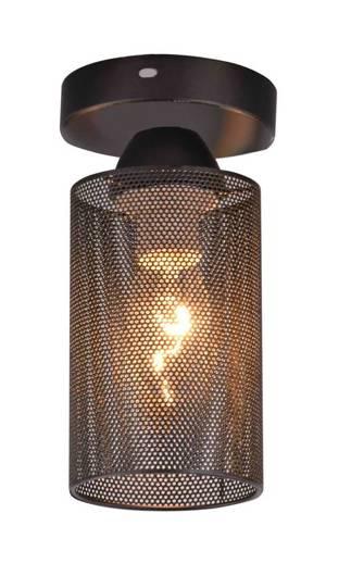 LAMPA SUFITOWA  CANDELLUX INDIRA 31-62505   E14 CZARNY