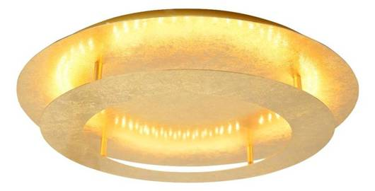 LAMPA SUFITOWA  CANDELLUX MERLE 98-66213 PLAFON  18W LED 3000K ZŁOTY
