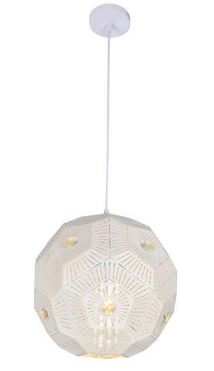 LAMPA SUFITOWA WISZĄCA CANDELLUX EUPHORIA 31-69689   E27 BIAŁY