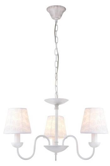 LAMPA SUFITOWA WISZĄCA CANDELLUX LORI 33-43788  E14 BIAŁY