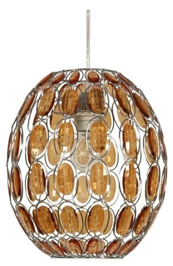 LAMPA SUFITOWA WISZĄCA CANDELLUX SELMA 31-02860   E27 POMARAŃCZOWY
