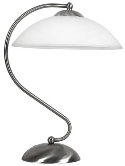 Lampa Stołowa Candellux Lido 41-72187 E27 Satyna Nikiel