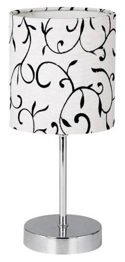 Lampa Stołowa Gabinetowa Candellux Emily 41-26750 E14 Biała