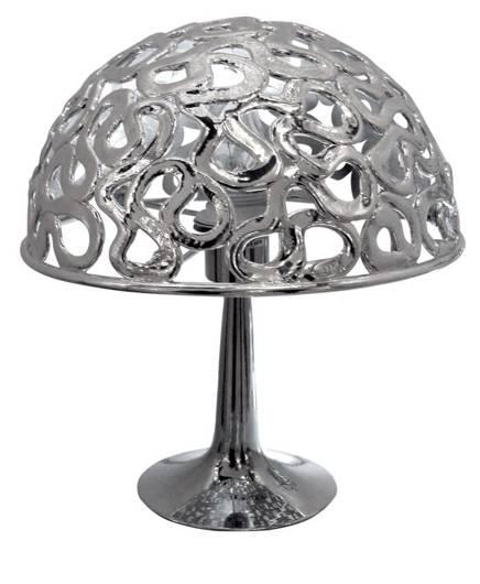 Lampa Stołowa Gabinetowa Candellux Lame 41-40056 E27 Chrom