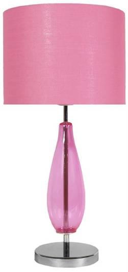 Lampa Stołowa Gabinetowa Candellux Marrone 41-01252 E27 H-57 Różowa