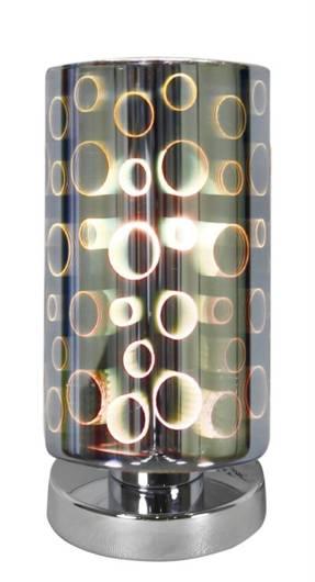Lampa Stołowa Gabinetowa Candellux Nocturno 41-61454 E27 Chrom