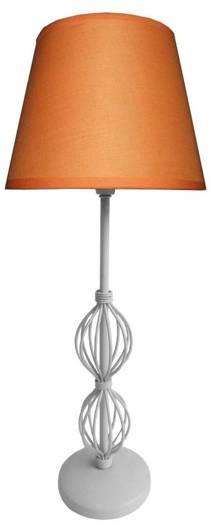 Lampa Stołowa Gabinetowa Candellux Rosette 41-99580 E14 Ab. Pomarańczowy